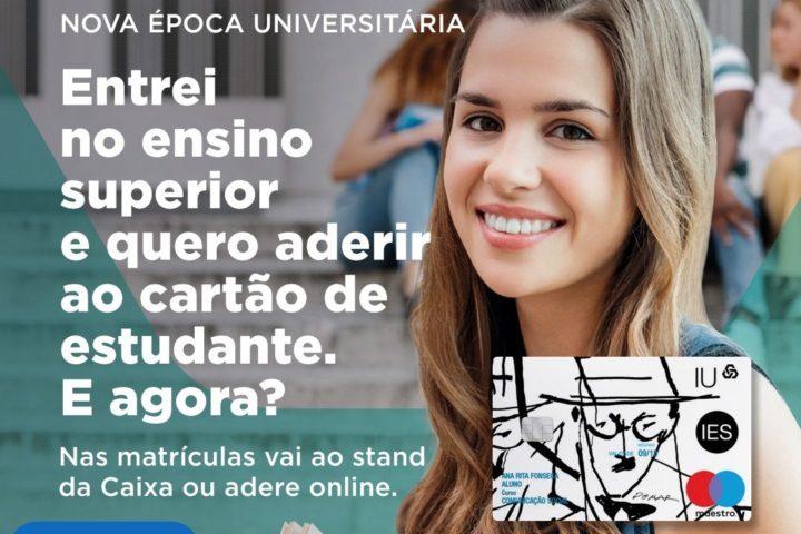 Adesão ao cartão do estudante CGD nas escolas ou online